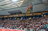 Men's Volleyball, Bronze Medal Match, Italy vs Bulgaria.  A close fourth set eventually went to Italy.