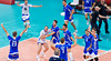 Men's Volleyball, Bronze Medal Match, Italy vs Bulgaria.   Italy celebrates!