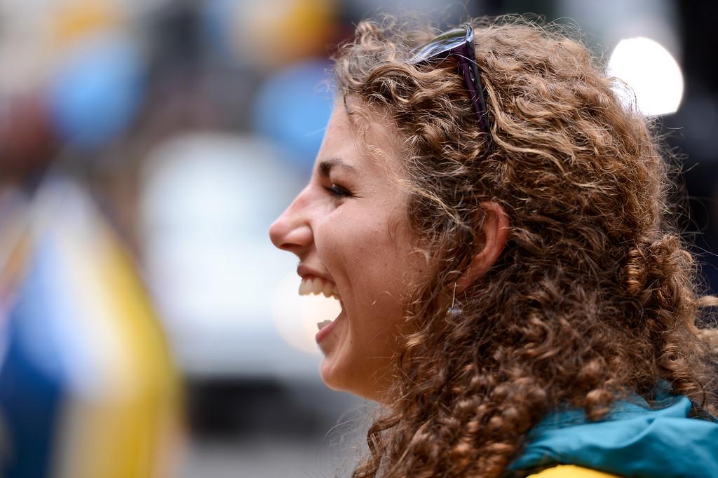 "The ""Silver Fox"": Australian Kayaking Silver Medallist Jessica Fox - Welcome home to Aussie Olympic Athletes; Queen Street Mall,City, Brisbane, Queensland, Australia; 24 August 2012. Photos by Des Thureson - <a href=""http://disci.smugmug.com"">http://disci.smugmug.com</a>. (Camera 1)"