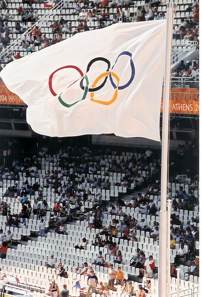 Olympic flag in Sydney