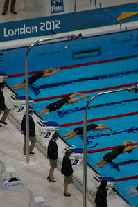 Women's 100m backstroke final
