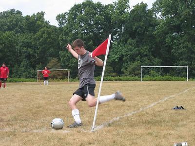 Alex, corner kick