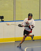 "Allegany Arrows visited the Onondaga Red Hawks in Can-Am Senior ""B"" Box Lacrosse league action at the Onondaga Nation Arena in Nedrow, New York on Sunday, June 26, 2011.  Redhawks won 30-4."