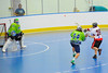 """Onondaga Red Hawks Andy Spack (36) shoots on the Rochester Greywolves goal in Can-Am Senior """"B"""" Box Lacrosse playoff action at the Onondaga Nation Arena in Nedrow, New York on Friday, July 15, 2011.  Greywolves won 12-8."""