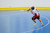 "Onondaga Red Hawks Josh Kacprzak (7) fires a shot on the Rochester Greywolves net in Can-Am Senior ""B"" Box Lacrosse playoff action at the Onondaga Nation Arena in Nedrow, New York on Friday, July 15, 2011.  Greywolves won 12-8."