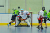 "Rochester Greywolves Bobby Defreeze (13) leans in to score against the Onondaga Red Hawks in Can-Am Senior ""B"" Box Lacrosse playoff action at the Onondaga Nation Arena in Nedrow, New York on Friday, July 15, 2011.  Greywolves won 12-8."