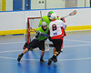 "Onondaga Red Hawks Alex Cook (2) shooting and scoring against the Rochester Greywolves in Can-Am Senior ""B"" Box Lacrosse playoff action at the Onondaga Nation Arena in Nedrow, New York on Friday, July 15, 2011.  Greywolves won 12-8."