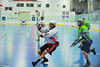 """Onondaga Red Hawks Tyler Hill (14) taking a shot against the Rochester Greywolves net in Can-Am Senior """"B"""" Box Lacrosse playoff action at the Onondaga Nation Arena in Nedrow, New York on Friday, July 15, 2011.  Greywolves won 12-8."""