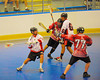 Onondaga Redhawks Zach Guy (32) winding up for a shot against the Buffalo Creek Thunder at the Onondaga Nation Arena near Nedrow, New York on Sunday, June 17, 2012.