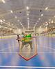 "Onondaga Redhawks Dave Limbouris (5) scores against the Newtown Golden Eagles goalie in a Can-Am Senior ""B"" box lacrosse game at the Onondaga Nation Arena (Tsha'hon'nonyen'dakhwa') near Nedrow, New York on Saturday, May 12, 2012."