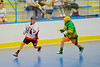 """Onondaga Redhawks Dwyane Porter (23) being chased by a Newtown Golden Eagles defender in a Can-Am Senior """"B"""" box lacrosse game at the Onondaga Nation Arena (Tsha'hon'nonyen'dakhwa') near Nedrow, New York on Saturday, May 12, 2012."""