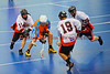 "Onondaga Redhawks players Clayton Jones (11), Wade Bucktooth (19) and Andy Spack (36) close in on Six Nations Slash Jason Johns (8) in game three of the second round of the Can-Am Senior ""B"" playoffs at the Onondaga Nation Arena near Nedrow, New York on Sunday, July 29, 2012. Redhawks won 15 to 6."