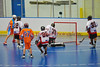 """Six Nations Slash Craig Maracle (44) scores against the Onondaga Redhawks in round two of the Can-Am Senior """"B"""" playoffs at the Onondaga Nation Arena near Nedrow, New York on Friday, July 27, 2012. Redhawks won 17 to 5."""