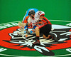 Onondaga Redhawks Andy Jameson (26) facing off against the Six Nations Slash at the Onondaga Nation Arena near Nedrow, New York on Sunday, June 29, 2014.  Onondaga won 30-6.