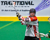 Onondaga Redhawks Troy Benedict (23) winds up for a shot at the Newtown Golden Eagles net in Can-Am Box Lacrosse action at the Onondaga Nation Arena near Nedrow, New York on Saturday, July 9, 2016.  Onondaga won 14-6.