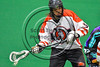 Onondaga Redhawks host the Rochester River Monsters in Can-Am Box Lacrosse action at the Onondaga Nation Arena near Nedrow, New York on Sunday, April 23, 2017.  Onondaga won 13-5.