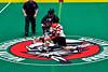 Onondaga Redhawks host the Akwesasne Bucks in Can-Am Box Lacrosse action at the Onondaga Nation Arena near Nedrow, New York on Friday, May 31, 2019. Akwesasne won 11-6.
