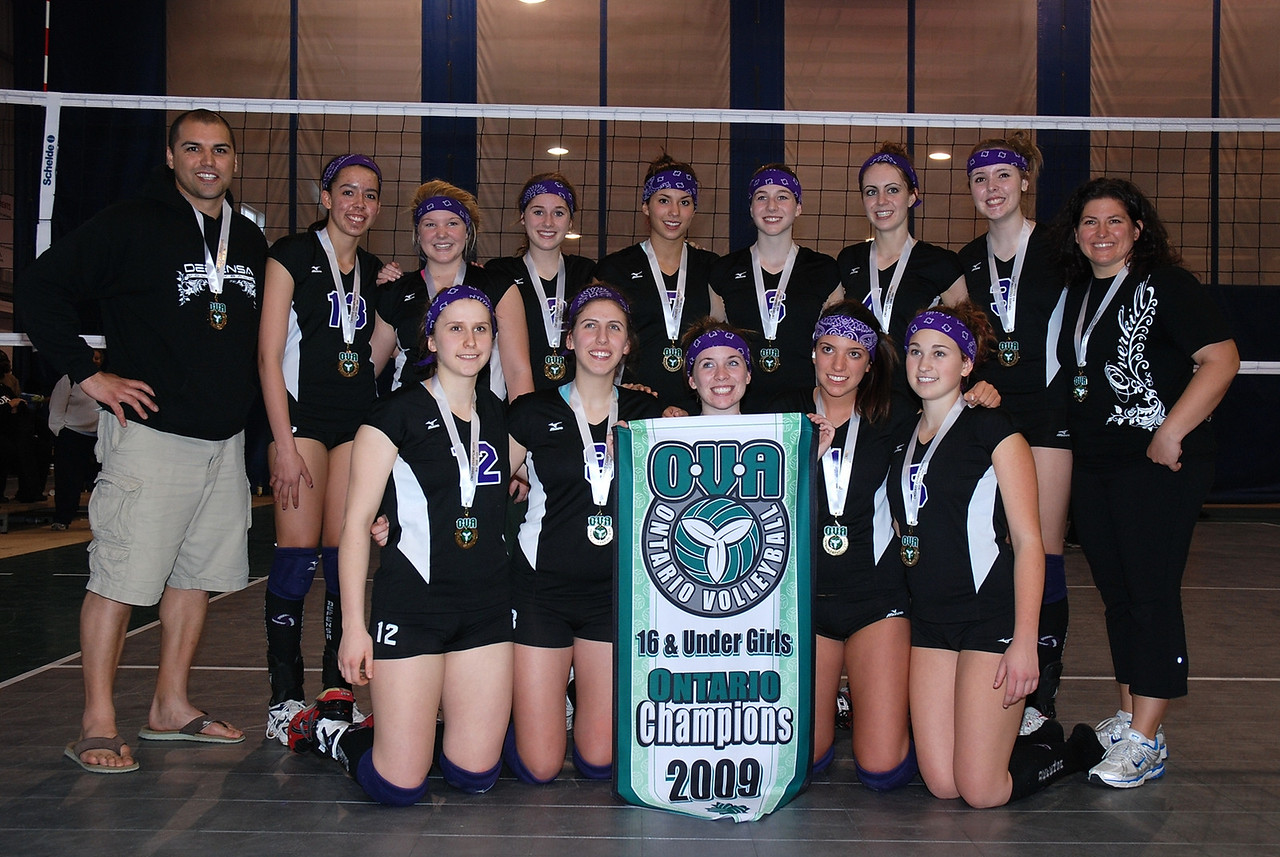 0350Volleyball Ont Provincials  Gold