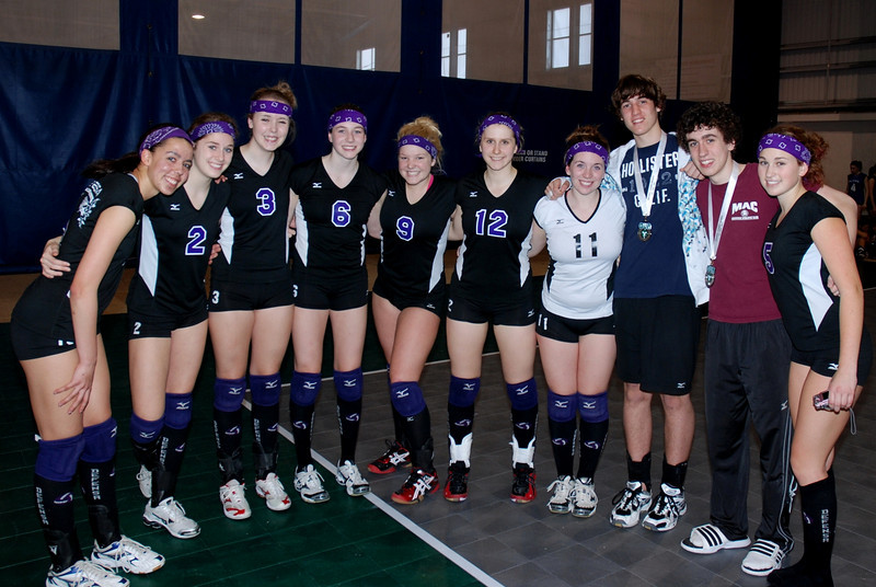 0322Volleyball Ont Provincials  Gold