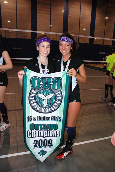 0363Volleyball Ont Provincials  Gold