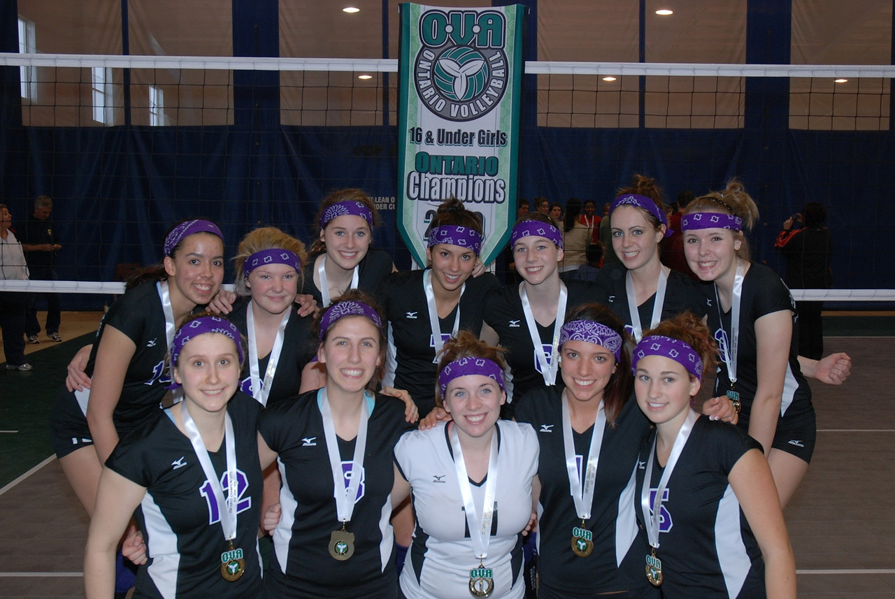 0346Volleyball Ont Provincials  Gold