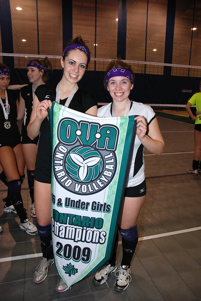 0364Volleyball Ont Provincials  Gold