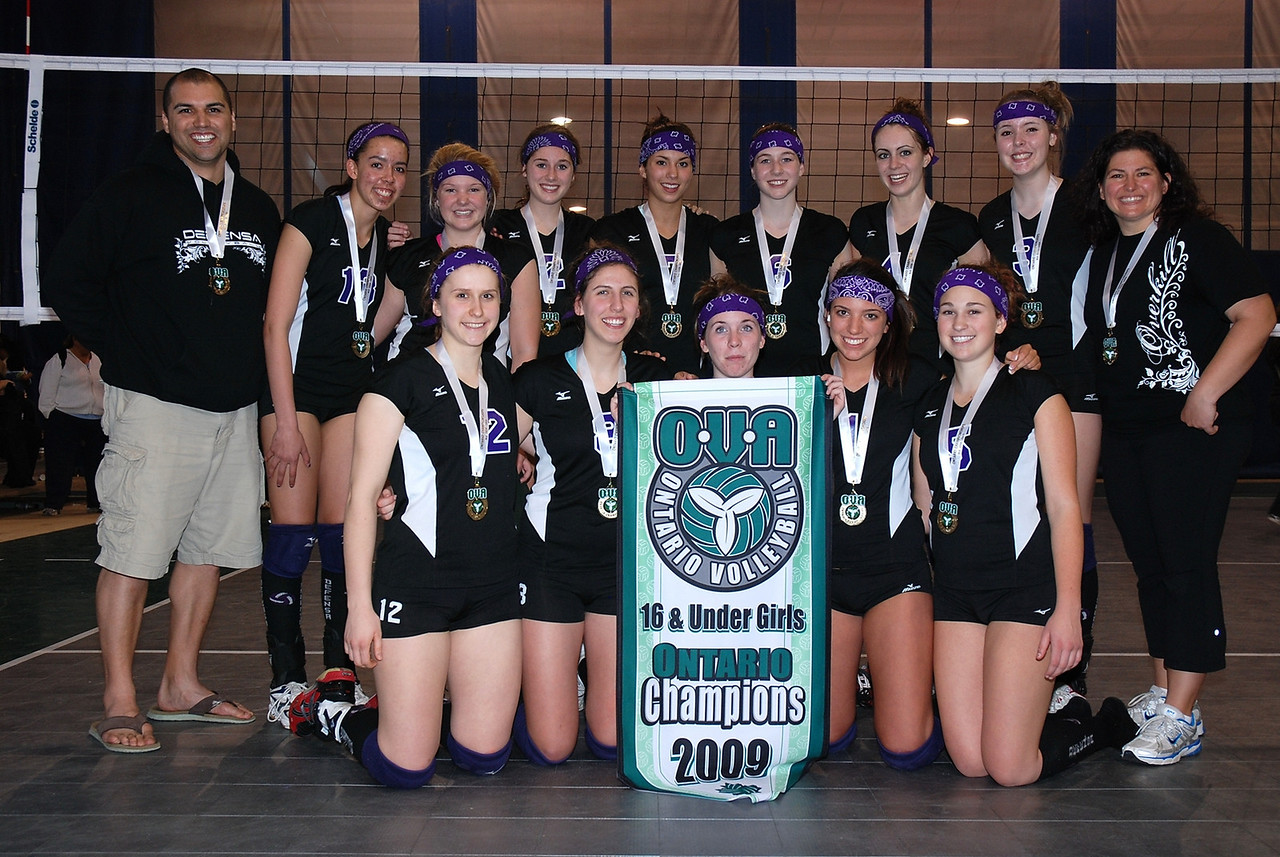 0352Volleyball Ont Provincials  Gold