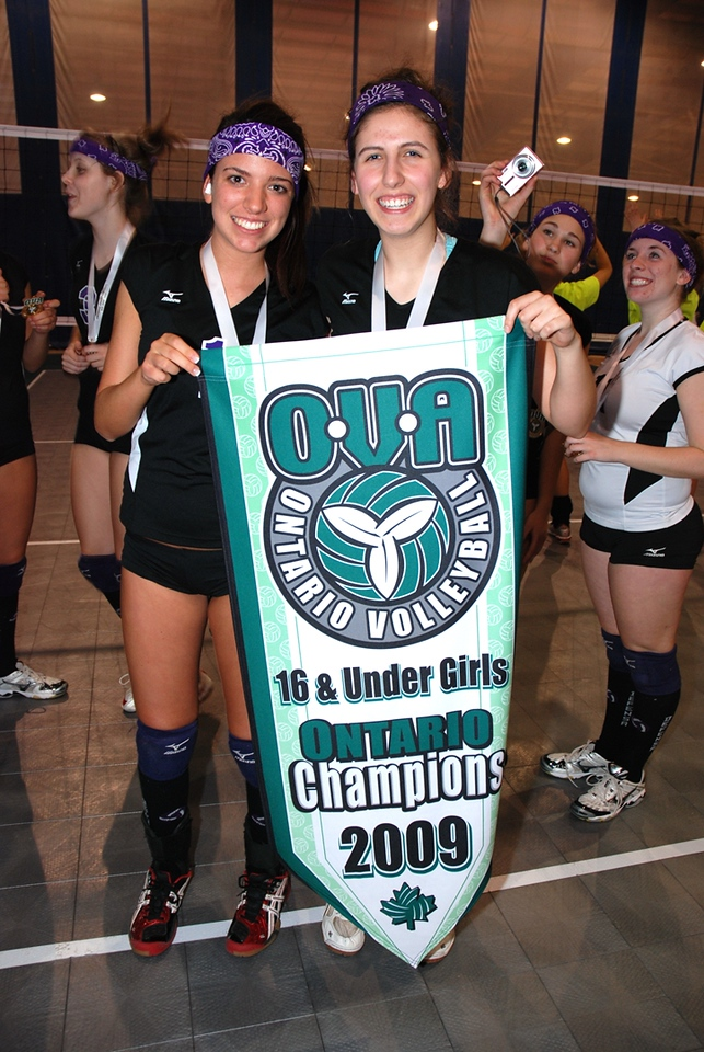0361Volleyball Ont Provincials  Gold