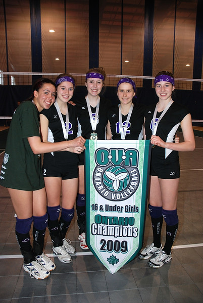 0369Volleyball Ont Provincials  Gold