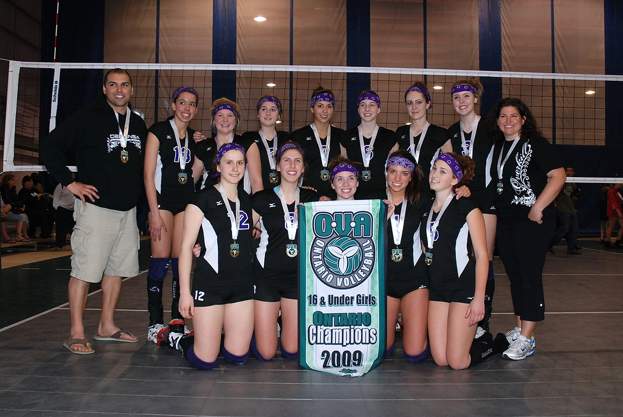 0351Volleyball Ont Provincials  Gold