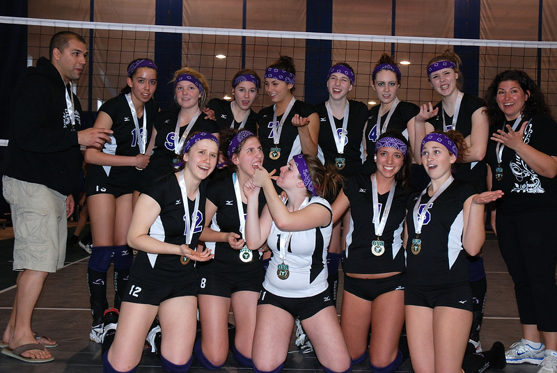 0355Volleyball Ont Provincials  Gold