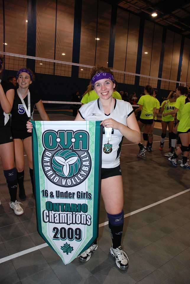 0360Volleyball Ont Provincials  Gold