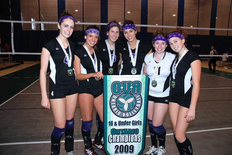 0370Volleyball Ont Provincials  Gold
