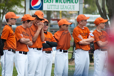 Opening Day Baseball East Wicomico Junior League April 2013