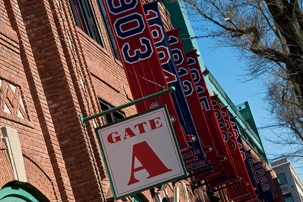 Banners over Yawkey Way