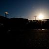 Sunset behind Fenway