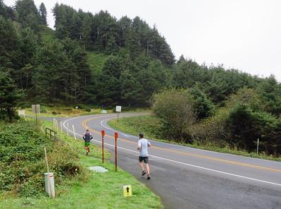 Oregon Coast trail alongside 101.