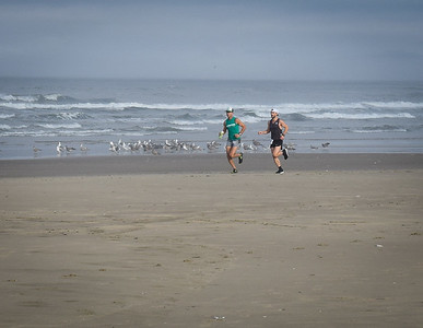 Leading runners.  Photo:  Dondi
