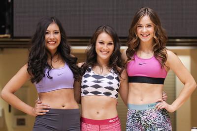 OSU Cheer Tryouts 2014
