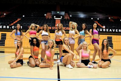 OSU Dance Tryouts 2014