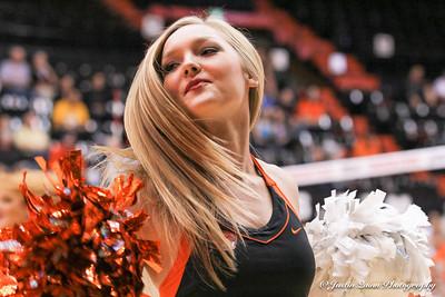 Volleyball vs. Washington State - Mini Cheer