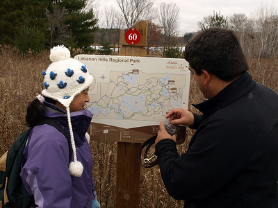 Orienteering at Lebanon Hills with BWAC
