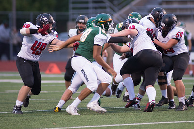 Orting Football Vs Clover Park 2015_6