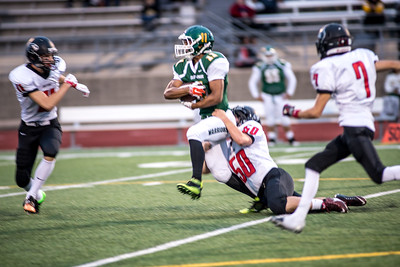 Orting Football Vs Clover Park 2015_16