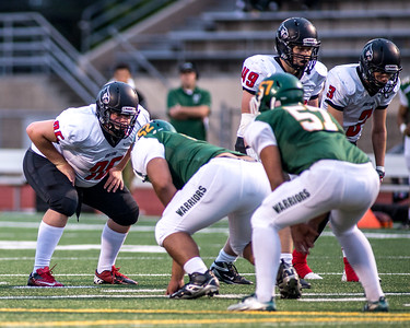 Orting Football Vs Clover Park 2015_9