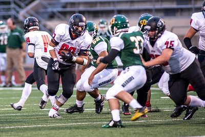Orting Football Vs Clover Park 2015_5