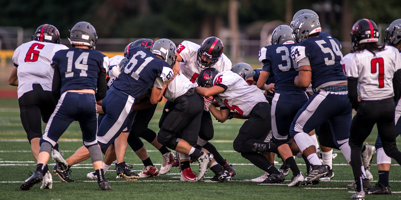 Orting Football Vs River Ridge 2017_2