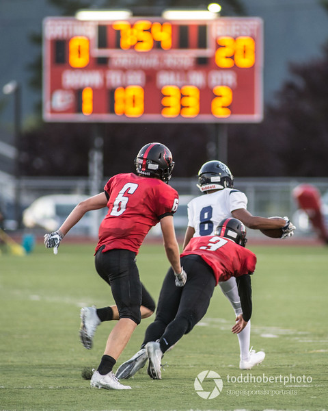 Orting Football Vs Cascade Christian 2017_47