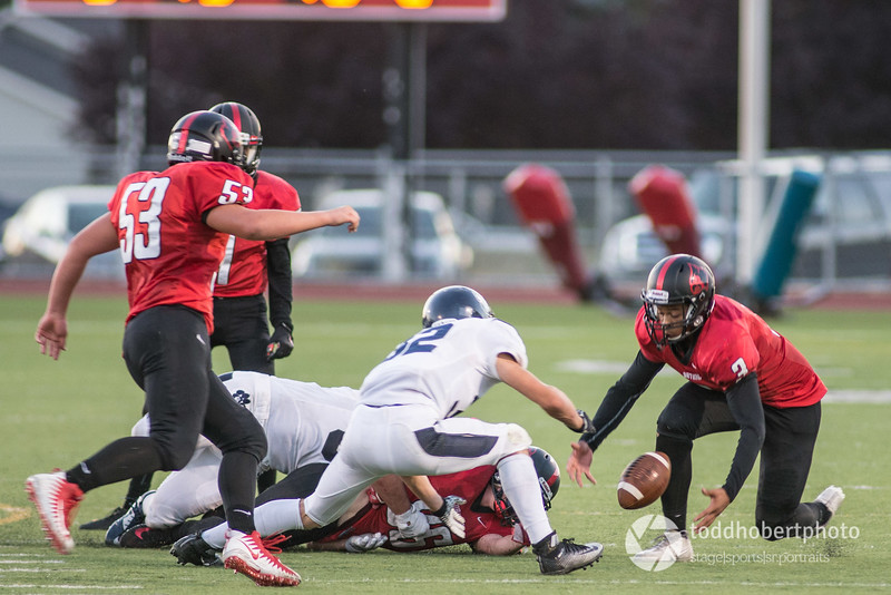 Orting Football Vs Cascade Christian 2017_53