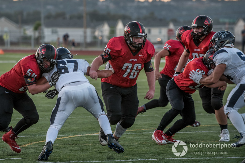 Orting Football Vs Cascade Christian 2017_40